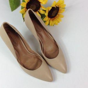 Corso Como leather heels